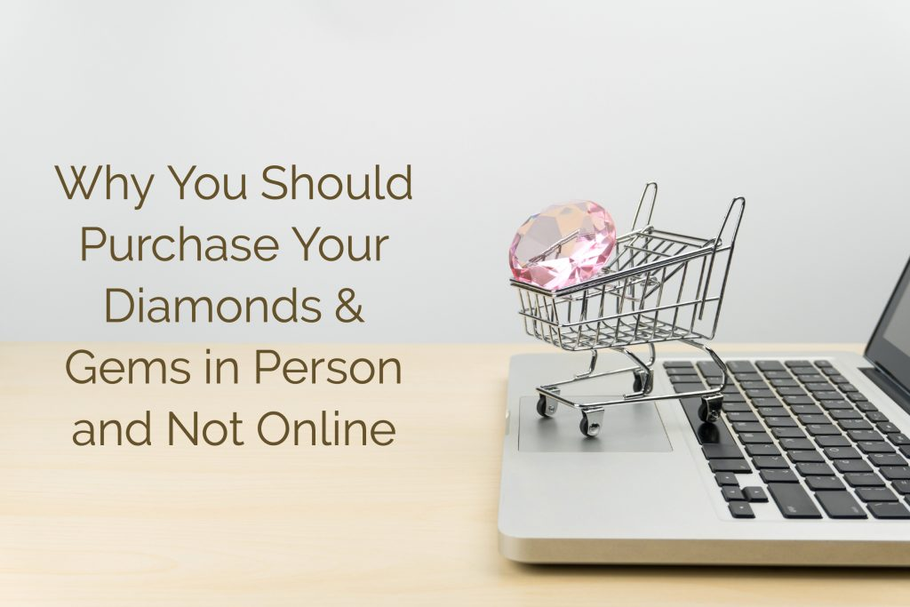 Purchase diamonds online